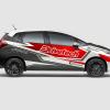Decal Sticker Honda Jazz RS Drivetech