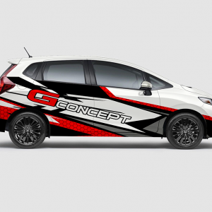 Decal Sticker Jazz RS G-Concept Racing Spider