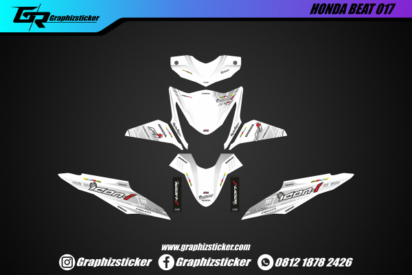 Decal Striping Honda Beat Icon-i
