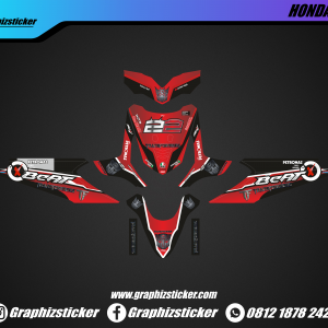 Decal Striping Honda Beat Transformer