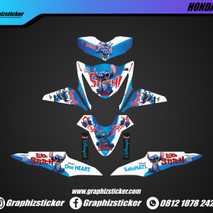 Decal Striping Honda Beat Stitch