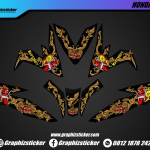 Decal sticker Honda Beat Leak Bali