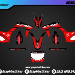 Decal Sticker Honda CRF Adidas