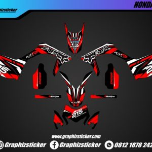 Decal Sticker Honda CRF FOX