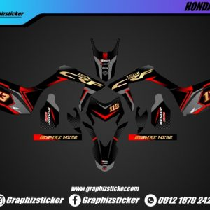 Decal Sticker Honda CRF Geomax