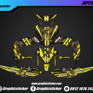 Decal Striping Yamaha Jupiter MX Transformer
