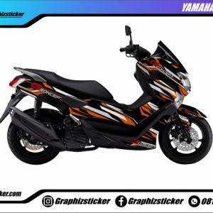 Decal Striping Yamaha NMax G-Concept