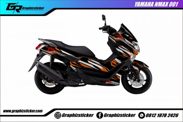 Decal Striping Yamaha NMax G-Concept