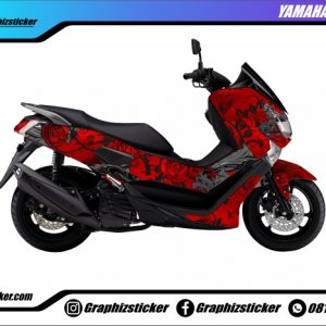 Decal Striping Yamaha NMax Rose