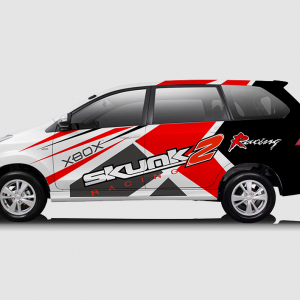 Decal Sticker Toyota Avanza Skunk Desain