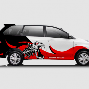Decal Sticker Toyota Avanza Fish Desain