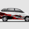 Decal Sticker Toyota Avanza G-Concept Racing Spider