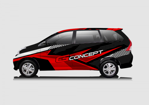 Toyota Avanza Red Black Street